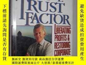 二手書博民逛書店英文原版罕見The Trust Factor by John W