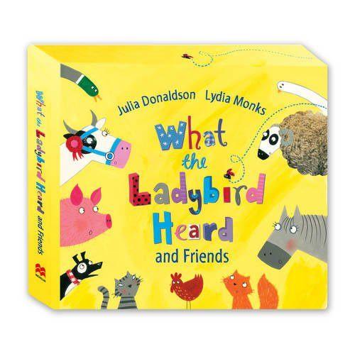 【麥克書店】WHAT THE LADYBIRD HEARD AND FRIENDS /單片CD (也可盒裝購買)