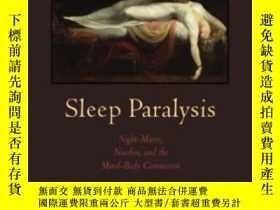 二手書博民逛書店Sleep罕見Paralysis-睡眠麻痹Y436638 Shelley R Adler Rutgers Un