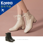 靴.馬甲方頭粗跟襪靴-大尺碼-FM時尚美鞋-韓國精選.Cold
