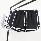 跑步運動短褲女夏新款時尚高腰寬鬆