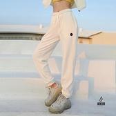 運動褲女加絨秋冬新款束腳跑步健身衛褲搖粒絨運動長褲【愛物及屋】