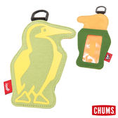 CHUMS 日本 Booby 造型悠遊卡夾 草本綠/樹綠 CH602012M011