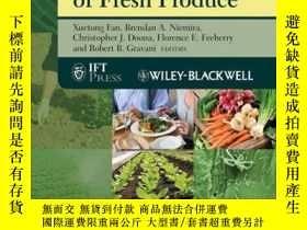 二手書博民逛書店Microbial罕見Safety of Fresh ProduceY410016 Xuetong Fan (