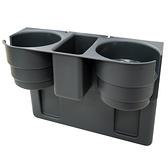 灰色 汽車椅縫多功能飲料置物架 收納架 水杯架【亞克】