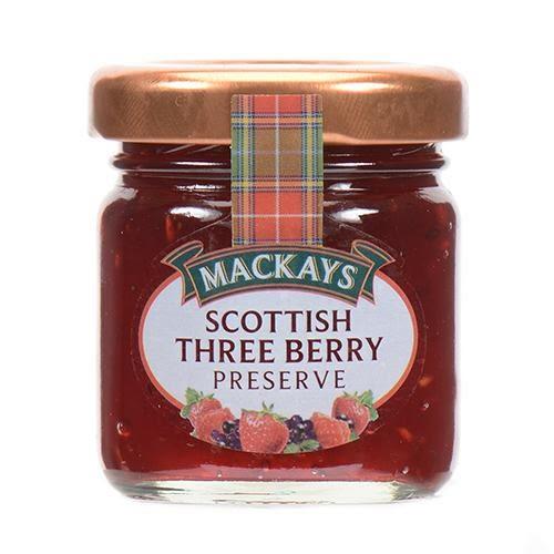 [熊熊eshop]蘇格蘭梅凱-三種莓果果醬 42g