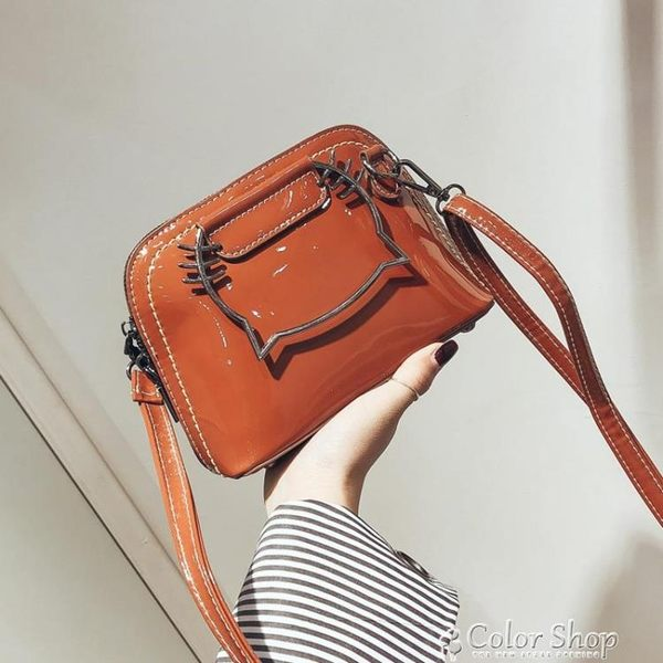 韓版貝殼小包包新款可愛少女手提百搭單肩斜背女包潮color shop