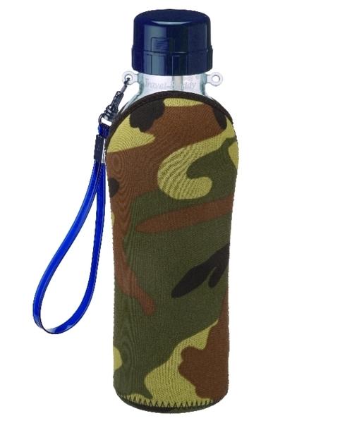 飄逸行動拍檔隨身杯(附吸管) 580ml 附雙面保冷保溫水壺套 限量出清特惠