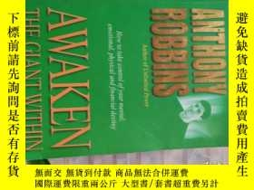 二手書博民逛書店Awaken罕見the Giant within:How to Take Immediate Control of