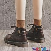 馬丁靴 馬丁靴新款2021秋季加絨英倫風春秋單靴顯腳小潮秋冬女鞋短靴 寶貝計畫