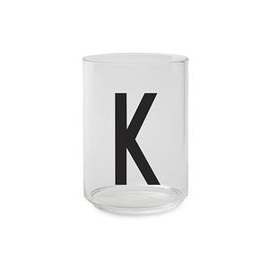 Design Letters 字母玻璃杯 K