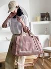手提包 旅行包女大容量輕便短途手提行李包健身包女小收納出差旅游包【快速出貨八折搶購】