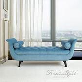 儲物凳 床邊床尾凳現代簡約北歐飄窗長沙發凳子貴妃榻換鞋凳 果果輕時尚igo