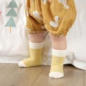 襪子 嬰兒襪子春秋純棉新生兒中筒襪男女童松口無骨寶寶襪 6雙裝-米蘭街頭