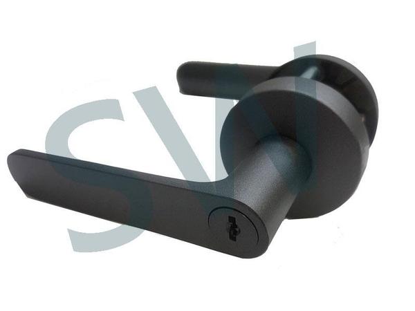LS-700 SN 日規水平鎖51mm 白鐵色 (三鑰匙) 小套盤 把手鎖 房門鎖 通道鎖 客廳鎖 辦公室門鎖