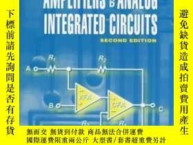 二手書博民逛書店Design罕見With Operational Amplifiers And Analog Integrated
