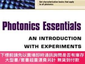 二手書博民逛書店Photonics罕見Essentials : An Introduction With Experiments奇