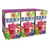 義美寶吉蔬果汁葡萄莓果125ml*24      ..【愛買】
