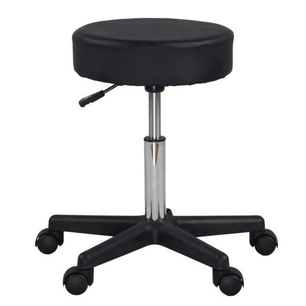 FDW【BC007】免運現貨*熱銷美國高密度海綿 升降圓椅/辦公椅/按摩床椅/五爪椅架