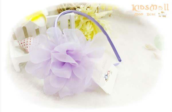 Cutie Bella紗茶花髮箍-Lilac