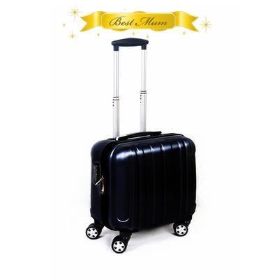 全館83折 可愛女14寸行李箱萬向輪16寸拉桿箱18寸旅行小登機箱密碼男子母箱