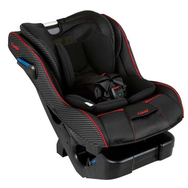 【買就送紅外線耳溫槍】康貝Combi News Prim Long EG 汽車安全座椅/汽座-羅馬黑