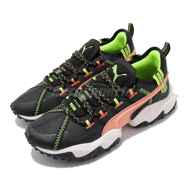 Puma 慢跑鞋 Erupt TRL First Mile 黑 橘 男鞋 女鞋 運動鞋 【ACS】 19315201