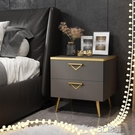 床頭櫃現代簡約輕奢置物架網紅ins風 北歐迷你創意簡易床邊收納櫃 3C優購