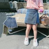 饅頭家童裝女童牛仔短褲薄款夏裝百搭兒童裙褲子休閒褲外穿洋氣 格蘭小舖