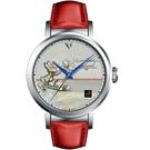 梵谷Van Gogh Swiss Watch梵谷經典名畫女錶 I-SLLS-04 標誌白花