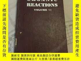 二手書博民逛書店organic罕見reactions volume v1[英文版