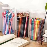 筆筒收納盒多功能創意可愛辦公室化妝刷桶架【櫻田川島】