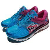 BROOKS 慢跑鞋 Glycerin 14 甘油系列 十四代 藍 紫 超級DNA動態避震科技 運動鞋 女鞋【PUMP306】 1202171B496