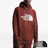 【THE NORTH FACE 美國】男 防潑水連帽長袖T恤『38X 杉紅』NF0A3M4E 戶外 登山 時尚 保暖