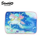 【日本正版】雙子星 滿版毛毯 冷氣毯 毯子 KIKILALA 三麗鷗 Sanrio - 484651