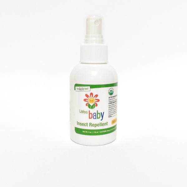 Lafes Organic 有機純自然嬰兒防蚊液(118ml) Lafe's 嬰兒防蚊液 118ml-超級BABY