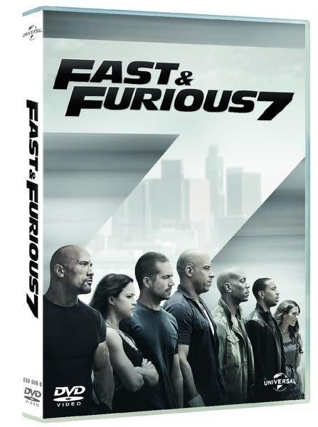 玩命關頭7  DVD Fast