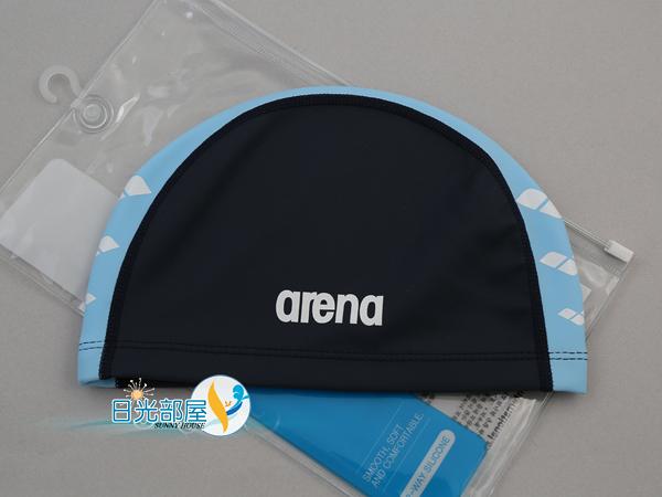 *日光部屋* arena (公司貨)/FAR-6912-NSKY 2WAY舒適矽膠泳帽