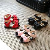 韓版蝴蝶結女寶寶0-2歲軟底公主學步鞋xx4747【雅居屋】