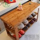 楠竹子鞋架儲物凳子簡易收納多層置物竹制穿換鞋凳鞋櫃經濟型家用 中秋降價