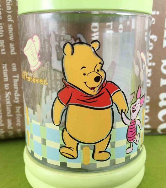 【震撼精品百貨】Winnie the Pooh 小熊維尼~調味罐S-綠