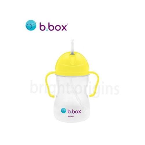 ☆愛兒麗☆澳洲 b.box 防漏學習水杯(檸檬黃)
