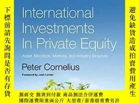 二手書博民逛書店International罕見Investments In Private EquityY364682 Pet