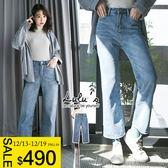 LULUS-C刷色牛仔寬褲S-L-淺藍  現+預【04011346】