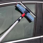 家用玻璃擦窗器加長伸縮桿刮水器清潔器刮刀洗玻璃刷窗戶清潔工具WD 至簡元素
