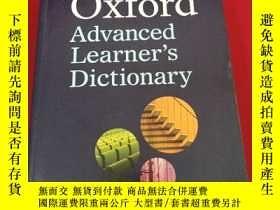 二手書博民逛書店Oxford罕見Advanced Learner 's Dict