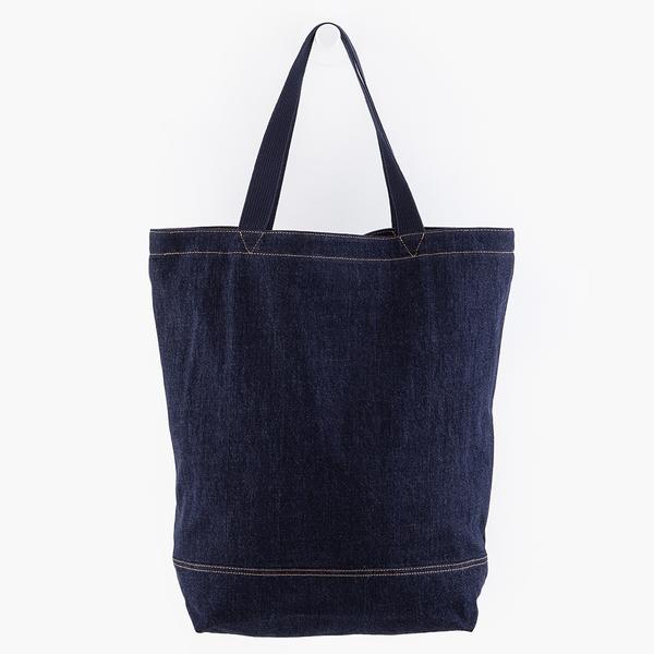 Levis 男女同款 丹寧托特包 / 經典後口袋設計 / 有機棉