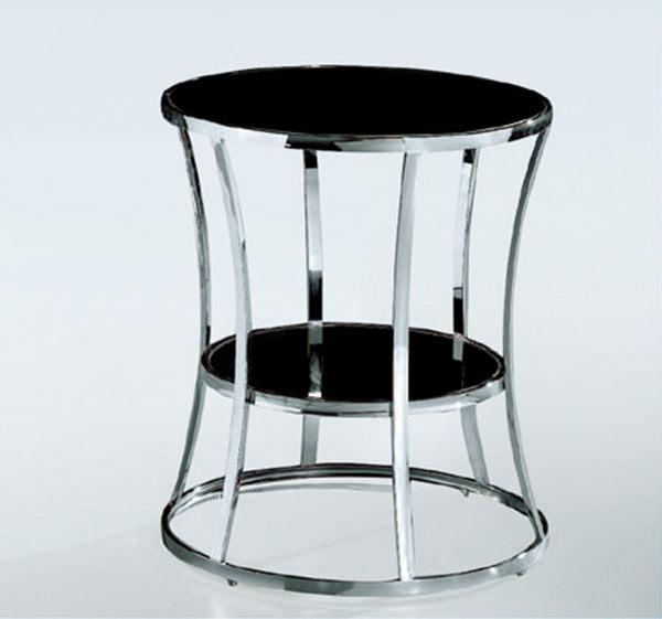 【 IS空間美學】X424黑玻小茶桌