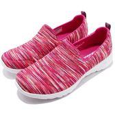 Skechers 健走鞋 Go Walk Joy-Terrific 粉紅 彩色 白 休閒鞋 女鞋 【PUMP306】 15615PKMT