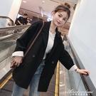 2020新款韓版春秋小個子黑色西裝外套女網紅小西服套裝英倫風上衣 黛尼時尚精品